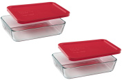 Pyrex 3-Cup Rectangle Food Storage