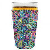 Coolie Junction Paisley Pattern Pint Glass Coolie