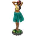 Sweet Leilani Hawaiian Hula Girl Dashboard Doll