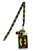 Lanyard with Charm DC Comics Batman Skinny with Logo Lanyard with Rubber Charm