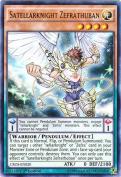 Yu-Gi-Oh! - Satellarknight Zefrathuban (CROS-EN020) - Crossed Souls - 1st Edition - Ultra Rare