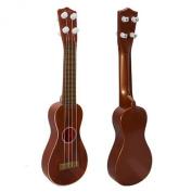 Coromose Children Development Simulation Red Guitar Music Toy Gift for Kids