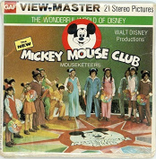 ViewMaster -Mickey Mouse Club- ViewMaster Reels 3D - from the 1970s