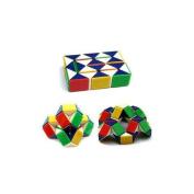 Colour RainbowTwist Snake Rubic Rubiks Magic Cube Rubix Puzzle Toy