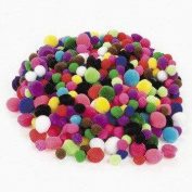 Tiny Pom Poms (500 pieces) - Bulk