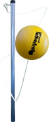 Park & Sun Sports Portable Outdoor Tetherball Set with Carrying Bag and Accessories