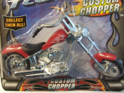 Street Tech Custom Chopper ~ Red with White Detail