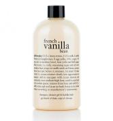 French Vanilla Bean Shampoo, Shower Gel & Bubble Bath, 480ml/16oz