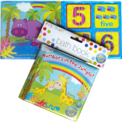 Baby Boys & Girls Bathtime Fun Counting Bath Book