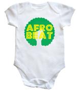 HippoWarehouse Afro beat hair baby vest boys girls