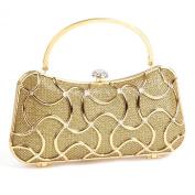 Damara Womens Geometric Minaudiere HardCase Clutch Bags