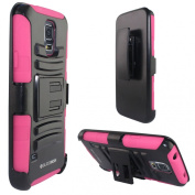 Galaxy S5 Case, BUDDIBOX [HSeries] Heavy Duty Swivel Belt Clip Holster with Kickstand Maximal Protection Case for Samsung Galaxy S5,