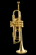 Trumpet Pin - 24k Gold Plated