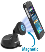 Car Mount, WizGear™ Universal Magnetic Car Mount Holder, Windshield Mount and Dashboard Mount Holder for Cell Phones and Mini Tablets with Fast Swift-snap™ Technology, Magnetic Cell Phone Mount l #1 Best Rated Magnetic Car Mount - (No Adhesiv ..