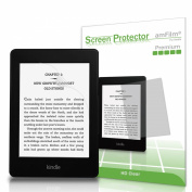 Kindle Screen Protector, amFilm® Kindle HD Clear (Invisible) Premium Screen Protector for Kindle, Kindle Paperwhite and Kindle Touch (2-Pack) [Lifetime Warranty]