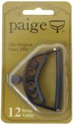 Paige P12E 12-String Guitar Capo - Black