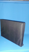 Large Flat Screen Tv's 90cm Marine Grade Black Nylon Dust Covers Ideal for Outdoor Locations.