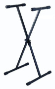 Stellar Labs 555-13815 Portable Keyboard Stand with Adjustable Height