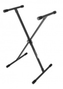On Stage KS8190 Lok-Tight Classic Single-X Keyboard Stand