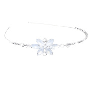 Phenovo Flower Girl Princess Rhinestone Headband Hair Decoration