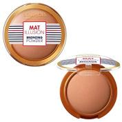 Bourjois Paris Mat Illusion Matte & Blur Bronzing Powder 15g - 22 Dark