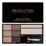 MAKEUP REVOLUTION - ULTRA BROW KIT PALETTE - FAIR TO MEDIUM