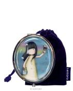 Santoro Gorjuss Compact Mirror with Keepsake Bag Rainbow Dreams