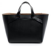 FEYNSINN tote bag - handheld Purse ELIN - ladies bag black leather
