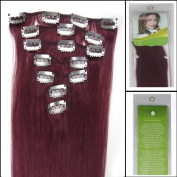 """15"""" 18"""" 20""""22"""" 7pcs Clip in Remy Real Human Hair Extensions Straight 24 colours for Choose Beauty Hair Style"""