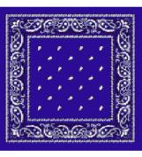 Blue Bandanna - Paisley