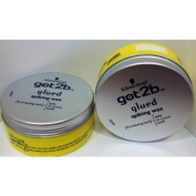 Schwarzkopf Got2b Glued Spiking Wax 75ml Tub x 3