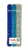 FunkyNailFiles Sparkly Nail Files (3 pack)