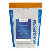 Muscleform CLUSTER DEXTRIN Highly Branched Cyclic Dextrin Powder - 500g Re-sealable Pouch - Fast Delivery