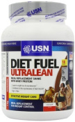 USN Diet Fuel Ultralean Weight Control Meal Replacement Shake Powder, Chocolate - 1 kg by Usn
