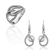 The Czech drill 18 k white gold plated suit lover the best gift