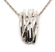 Orphelia Women's Necklace Gold-Plated Silver Zirconia White ZH - 6038