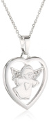 Xaana Women's Pendant 925 Sterling Silver Rhodium-Plated White AMZ0260