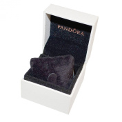 Pandora Women White Fabric Charm Gift Box
