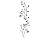 NEW - Contemporary Metal Wall Art - Laurel Leaf Stem Branch