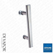 Straight Shower Enclosure Handle   145mm (14.5cm) Hole to Hole