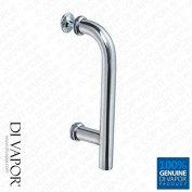 Chrome Shower Door Handle   145mm (14.5cm) Hole to Hole