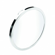 Croydex Glass and Mild Steel Rust Free Stick-n-Lock Plus Anti-Fog Mirror, Silver