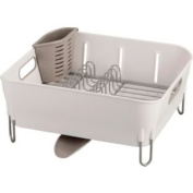 High Quality Simplehuman White Compact Dish Rack Dishwasher Safe