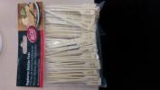 100 pack 'Veg' Wooden/Bamboo Skewers 9cm