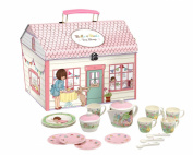 Belle & Boo - Melamine Tea Set in House shaped box