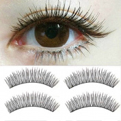 10 Pairs Natural Look Handmade False Eyelashes