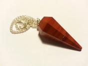 Dowsing pendulum (dowser) amethyst rock crystal aventurine and more