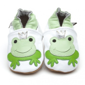 Soft Leather Baby Shoes Prince Frog 0-6 months