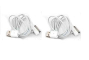 2 x iPhone 4s / 4 iPad 2 USB Data Transfer / Sync / Charging Cable Compatible with iPhone 4s 4 3GS