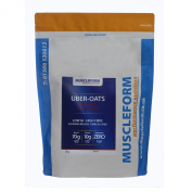 Muscleform UBER-OATS Ultra Fine Oat Powder - 3 x 2kg Resealable Pouch - Fast Delivery